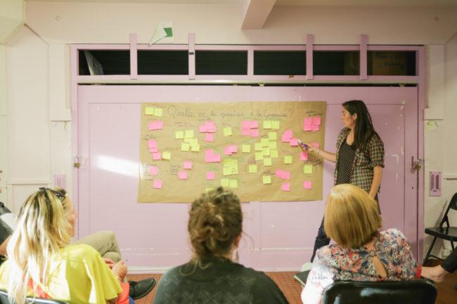 atelier participatif la carraire Miramas